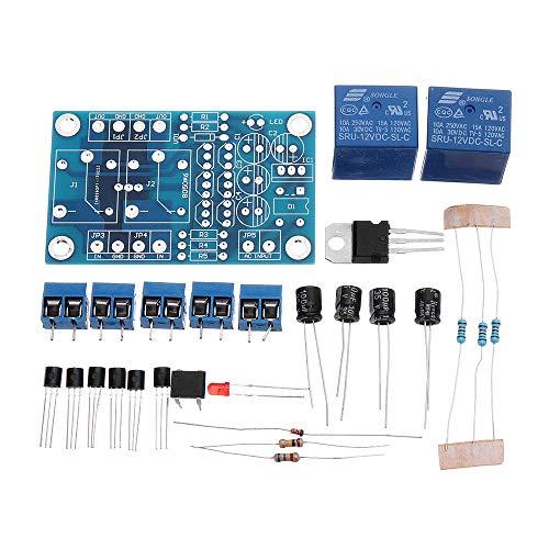 KASILU Dlb0109 DIY 5 UNIDS Audio PRESTRADOR PROTECCIÓN Amplificador COMPONENTES DE Amplificador DC Protect Kit Alto Rendimiento