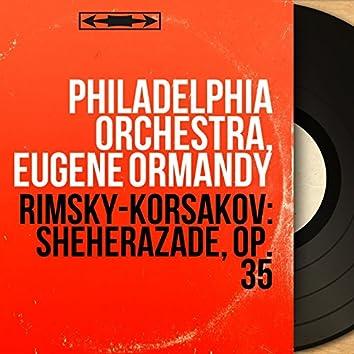 Rimsky-Korsakov: Sheherazade, Op. 35 (Mono Version)