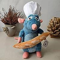 ラタトゥイユレミーマウスコスプレクックぬいぐるみぬいぐるみ人形32cm子供向け高品質バースデーギフト