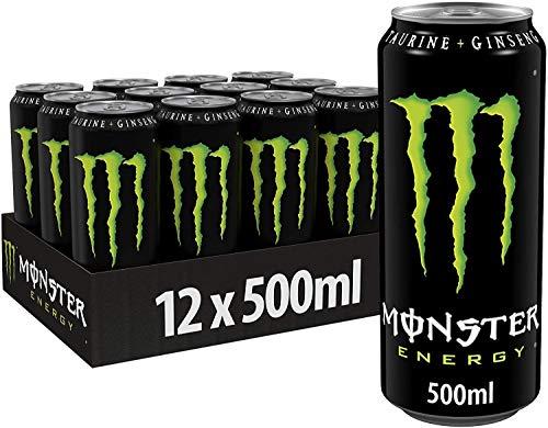 MONSTER ENERGY DRINK CLASSICA VERDE 50 CL - 12 LATTINE
