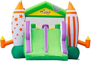 BaoYPP Inflable Castillo Hinchable Castillo Inflable Kinder corredera de Aire Interior al Aire Libre de Interior trampolín al Aire Libre (Color : Multi-Colored, Size : 570x325x220cm)
