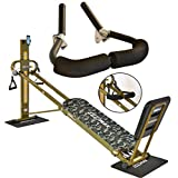 Crunch Ab Accessory Ergonomically Designed for Total Trainer and Other 1 Inch Thickness Large Frame Inclined Home Fitness Gym Equipments