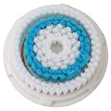 Facial Cleansing Brush Head Replacement, Facial Cleansing Brush Head, For Clogged and Enlarged Pores(Blue)