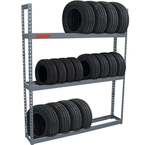 CHAMP Tire Rack - 24 Tire Capacity - 84 in H x 60 in W - Professional - Made in USA