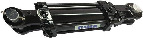 "CWA Hydraulics TR Tie Rod Hydraulic Cylinder 4"" Bore x 24"" Stroke x 2"" Rod x 2500 PSI - Port: SAE 8 and 1/2 NPT"