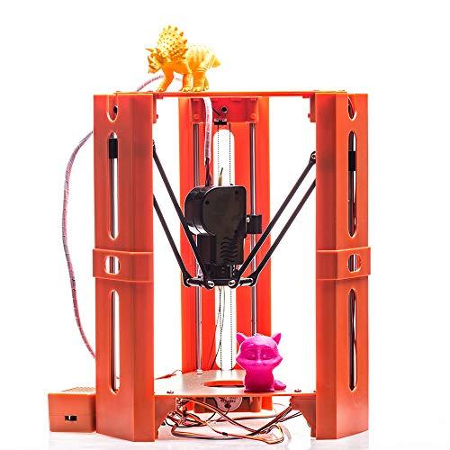 Roeam 3D-printerkit, mini high-precision startpagina DIY desktop FDM 3D-printer complete machine met laag energieverbruik, eenvoudig te bedienen