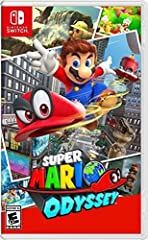 Explore huge 3D kingdoms filled with secrets and surprises, including costumes for Mario and lots of ways to interact with the diverse environments   such as cruising around them in vehicles that incorporate the HD Rumble feature of the Joy Con contr...