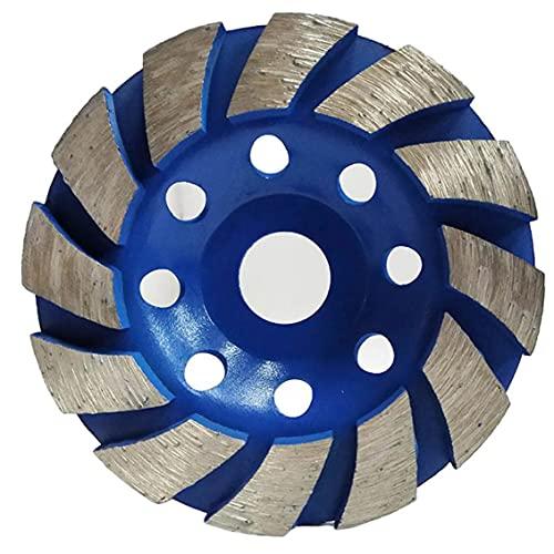 YepYes Taza de Muelle Rueda Diamante Abrasivo Abrasivo 100mm Concreto Piedra Polidura Disco de Pulido