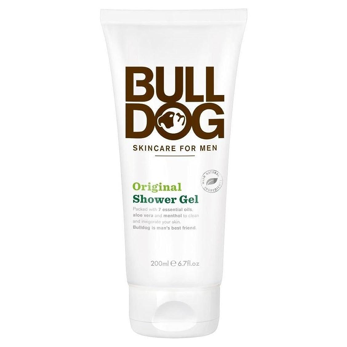 良さ刑務所接地Bulldog Shower Gel - Original (200ml) ブルドッグのシャワージェル - 元( 200ミリリットル)