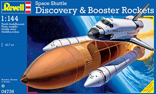 Revell 04736 - Space Shuttle Discovery & Booster Rockets 1:144