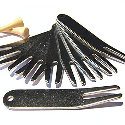 10er-Spar-Paket Pitchgabeln/Golf Divot Tool
