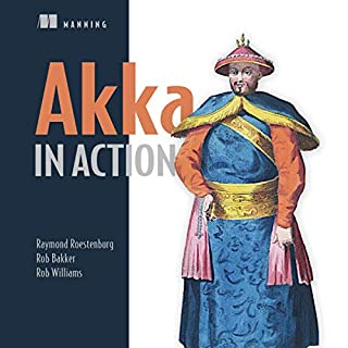 Akka in Action audiobook cover art