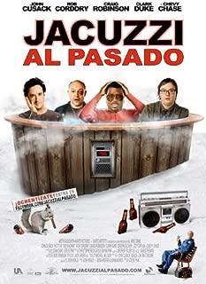 Hot Tub Time Machine Movie Poster (27 x 40 Inches - 69cm x 102cm) (2010) Spanish -(John Cusack)(Clark Duke)(Craig Robinson)(Rob Corddry)(Sebastian Stan)(Lyndsy Fonseca)