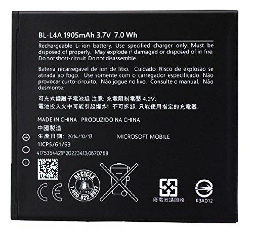 Bateria Original Microsoft Lumia 535, Lumia 540 (BL-L4A) 1905mAh