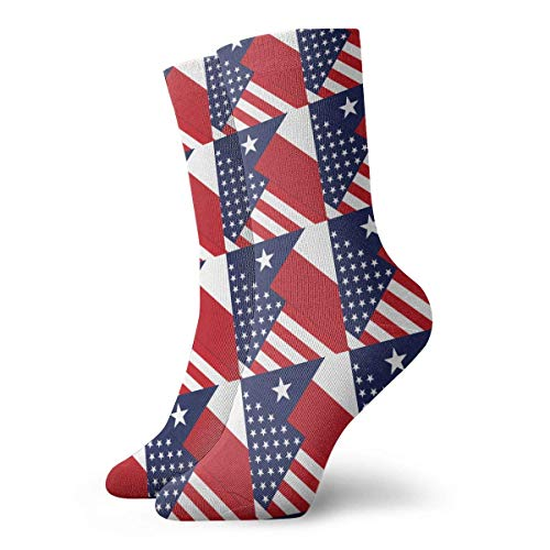 NA Stretch Sokken Pont Des Arts Bridge Sokken Knie High Socking aangepast voor hardlopen, Atletiek, Spataderen