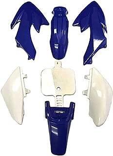 HK Group Motorctcly Blue Plastic Fender Kit Body Work Fairing Kit For Honda CRF XR XR50 CRF50 Clone 125CC Pit Dirt Bike