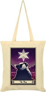 Deadly Tarot Felis - The Star Tote Bag Cream 38 x 42cm