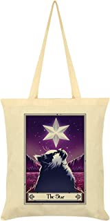 Deadly Tarot Felis - The Star Tote Bag Cream 38 x 42cm