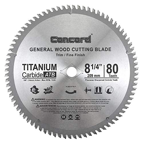 Concord Blades WCB0825T080HP 8-1/4