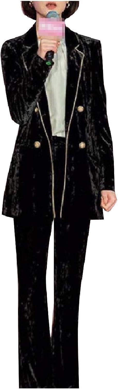 FreelyWomen Boyfriend Work OL Premium Blazer 2 Pieces Outfits Suit