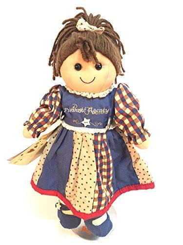 Bambola My Doll Mini blu, quadretti e beige stelline 32cm