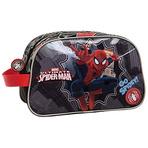 Marvel Neceser Adattabile al Trolley Spiderman, Multicolore, 26 cm