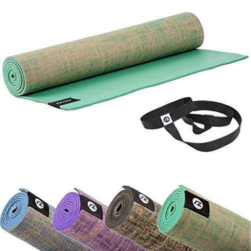 Sternitz Esterilla de Yoga ó Pilates Antiresbalante - Acolchada - Ecológica -...