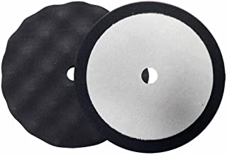 Dynabrade 90027 3-Inch Diameter Terry Cloth Reattachable Hook-Face Backing Polishing Pad White