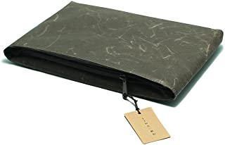 「SIWA・紙和」和紙のクッションケース New mini/ブラック