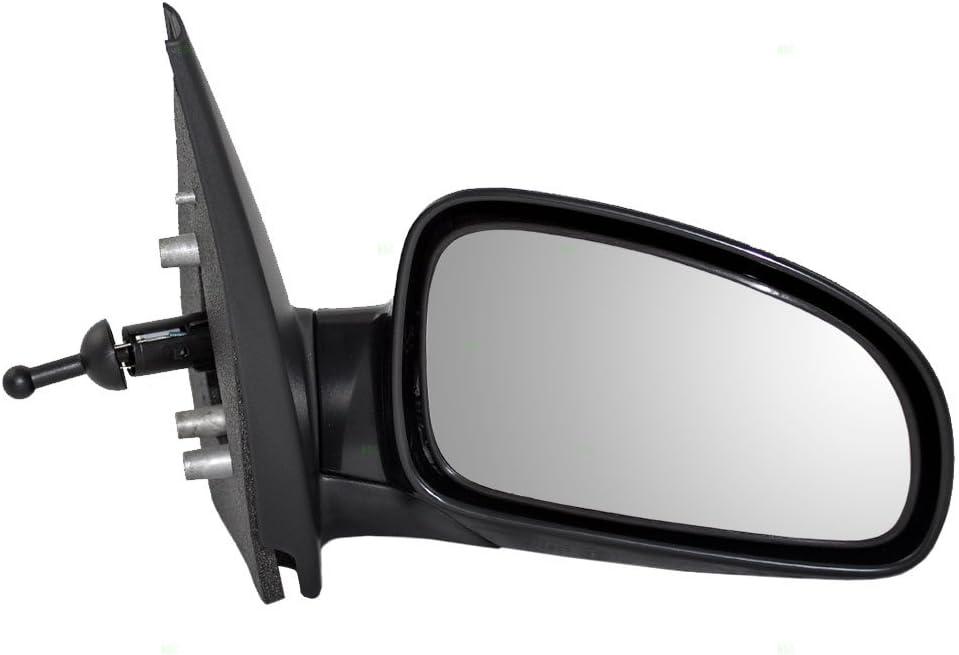 新商品 最新アイテム 新型 Brock Replacement Passenger Manual Remote Door Compa Mirror Side