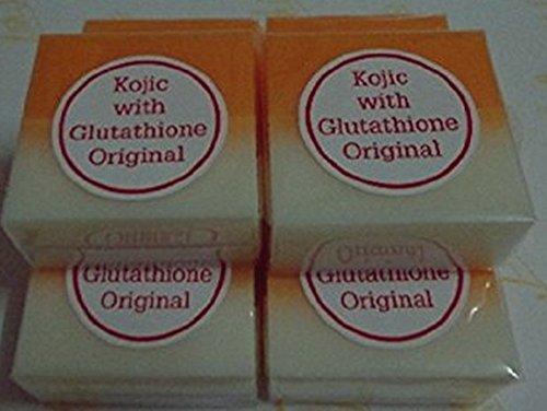 10bares Kojic ácido con Glutatión Blanqueamiento jabón/lejía/Lightening
