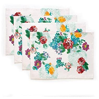 The Pioneer Woman Country Garden Reversible Placemat, 4pk