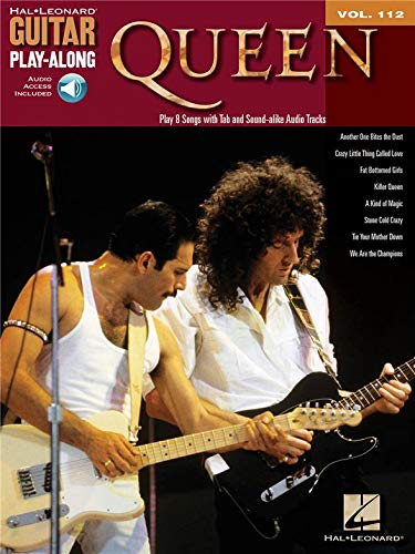Guitar Play-Along Volume 112: Queen. Für Gitarre, Gitarrentabulatur