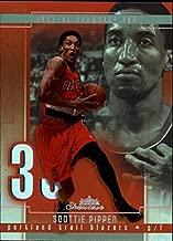 2003-04 Fleer Showcase #47 Scottie Pippen NBA Basketball Trading Card