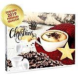 C&T Kaffee-Adventskalender 'Bio/Fair' (Kaffeekapseln) 2019 mit 24 Biologischen, Raritäten- und Fair gehandelten Kaffees für Nespresso-Maschinen   Kompostierbare Öko-Kapseln