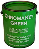 Chromakey Green Paint...image