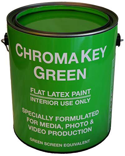 ChromaKey Green Paint 1 Gallon Green Screen Equivalent