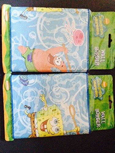 Spongebob Squarepants Wall Border DCPI 064 05 1669 by Nickeleon