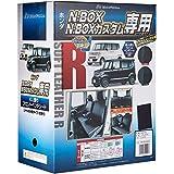 ボンフォーム シートカバー ソフトレザーR M4-33 N-BOX 専用2列車 M4-33 N-BOX ブラック 4497-50BK