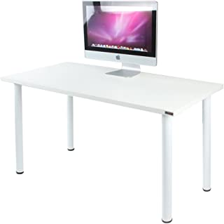 Need Computer Desk 47 inches Computer Table Writing Desk Workstation Office Desk,White AC1DW-120