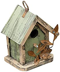 Tin birdhouse for your husband on your 10th anniversary
