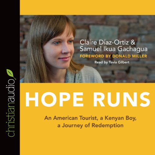 Hope Runs audiobook cover art