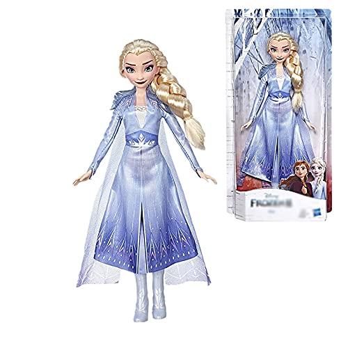 GSP-DFG Personaje Muñeca / Disney Frozen 2 Película Princesa Aisha Personaje Juguete Regalo para niños 28cm