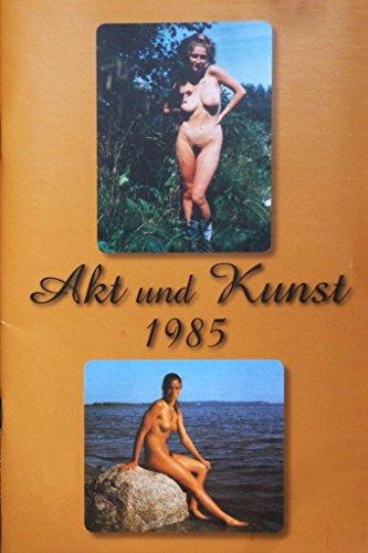 Akt und Kunst 1985 - Erotikmagazin DDR Klassiker der Aktaufnahme