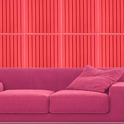 Paneles fonoabsorbentes Paneles absorbentes de pared para salas de mezcla(Red (ordinary, folded and shipped))