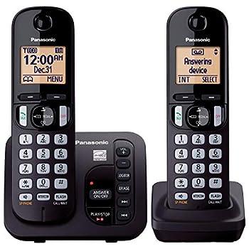 Panasonic KX-TGC222B Answering System with 2 Handsets  Renewed   KX-TGC222S BLACK