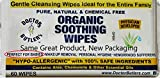 Doctor Butler's Organic Soothing Baby Wipes - Hypoallergenic & All-Natural Fragrance Free Baby Wipes to Moisturize and Soothe Baby Sensitive Skin with Chamomile and Essential Oils (1 Pack – 60 Wipes)