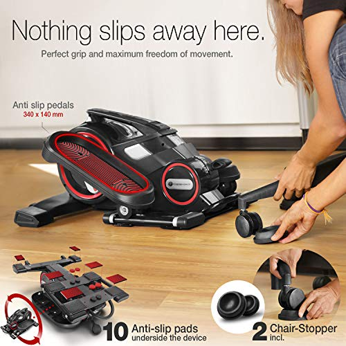 Fair-novelty-2020-Mini-Exercise-cross-trainer-with-App-Stepper-DFX100-elliptical-for-Exercise-in-the-Office-at-Home-Workplace-Health-no-height-adjustable-desk-necessary-Leg-Pedal-Trainer