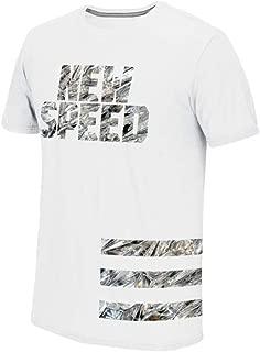 Men's White New Speed Diamonds Graphic Climalite Performance T-Shirt