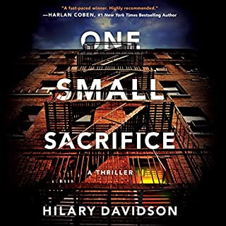 One Small Sacrifice audiobook cover art